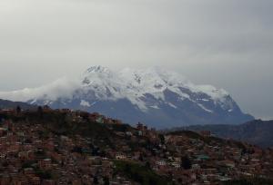 Monte Ilimani - La Paz