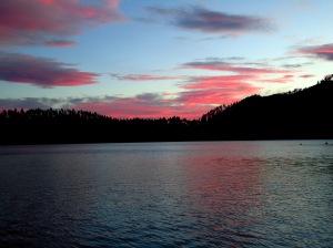 Blue Lake - rotorua - Nova Zelândia