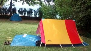 Acampar em Ilhabela
