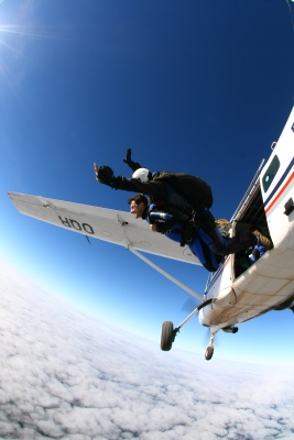 Saltar de paraquedas em Boituva